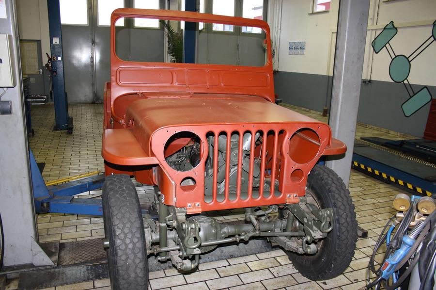 KFZ-Meisterbetrieb Werner Dreissigacker - Willys Jeep Restaurierung